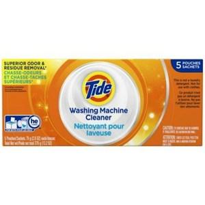 美國 Tide 洗衣槽洗潔劑-(75gx5/盒)x3