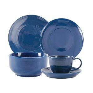 (組)璞真純色餐具深藍4件組