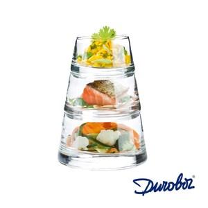 比利時Durobor 金字塔杯組-三層