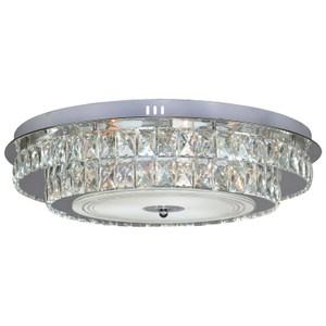 強尼LED水晶吸頂燈 36W E27燈頭x6