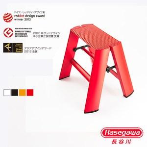 【長谷川Hasegawa設計好梯】Lucnao設計傢俱梯 一階紅色(24cm)