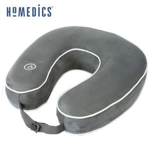 美國 HOMEDICS 記憶泡棉震動按摩頸枕 (灰色)