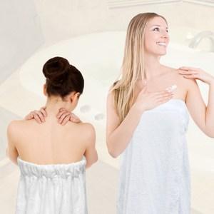 【法式寢飾花季】純品良織-頂級SPA專用純棉厚織浴裙