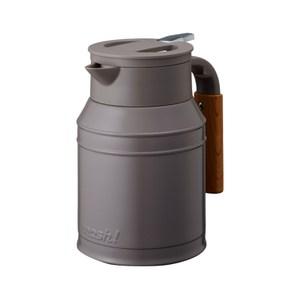 MOSH 1L牛奶罐保溫壺 可可
