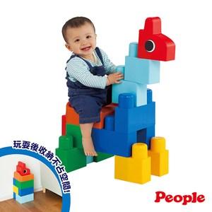 日本 People 全身體感大積木 乘坐遊戲組合 1Y+
