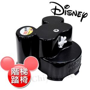 【迪士尼Disney】米奇大頭造型日本製 防滑兒童椅 防滑矮 (全年齡適用)-黑