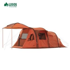 日本LOGOS 充氣四人帳 L-AH 客廳帳 充氣帳篷 速立帳篷 露營
