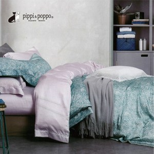 pippi & poppo 60支天絲 兩用被床包組 柳絮不飛(雙人)5尺