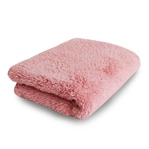 Lovel 7倍強效吸水抗菌超細纖維毛巾(蜜桃粉)