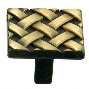 鋅質鍍古銅把手(編織)