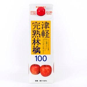日本青森完熟蘋果汁盒裝1L