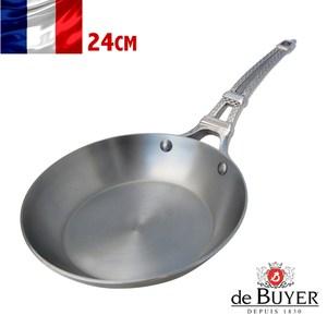 法國【de Buyer】畢耶鍋具『巴黎原礦蜂蠟系列』單柄平底鍋 24公分