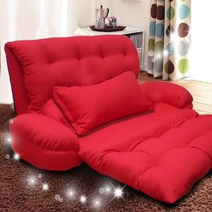 【kotas】凱特多功能手扶沙發椅(紅色)