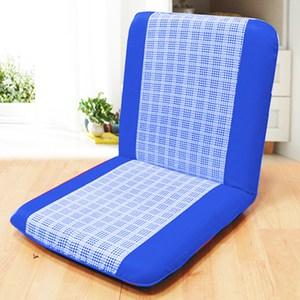 【KOTAS】羅達休閒和室椅輕巧好收納(和室椅)-藍