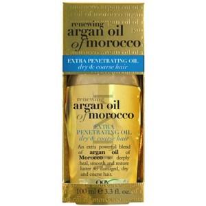 美國 Ogx 摩洛哥堅果油護(免沖洗)-加修護受損髮(3.3oz)*2
