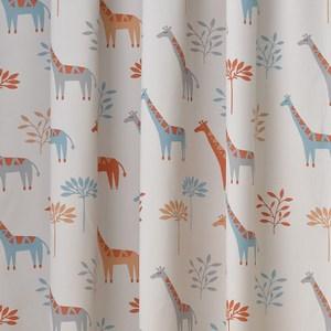 長頸鹿防螨抗菌遮光窗簾 0.2x290x240cm