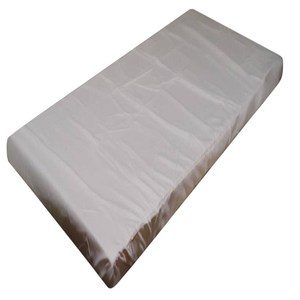 素色薄床墊套米 單加