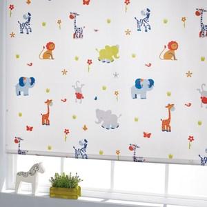 動物的家遮光捲簾 120x180cm