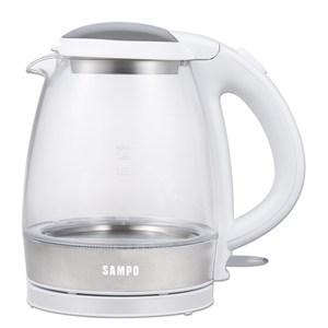 【聲寶SAMPO】1.2L玻璃快煮壺 (KP-CA12G)