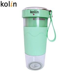 Kolin歌林無線磁吸式充電搖搖杯果汁機-綠色 KJE-HC15U-G