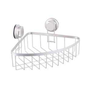 法國品牌Compactor霧面噴砂吸盤轉角置物架
