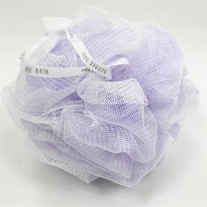 精裝雙層沐浴球 紫色