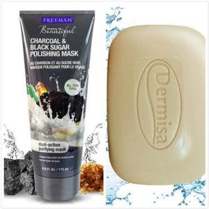 Dermisa 粉刺皂(85g)*2 + Freeman 粉刺面膜*1