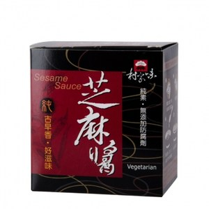 村家味芝麻調味醬(純素) 30gX8入盒裝