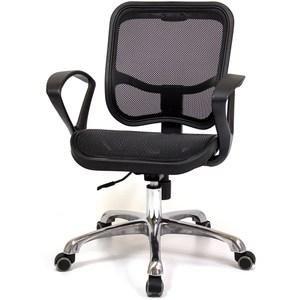 aaronation愛倫國度 義式設計風格雙扶手電腦椅 i-RS-10黑