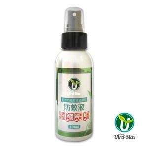 Utra-max優美仕天然植物精油萃取防蚊液100ml*3入