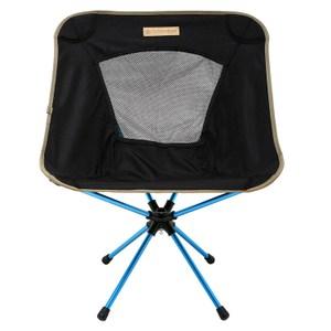 【OutdoorBase】25735-AMOEBA-360度鋁合金旋轉椅-低調黑