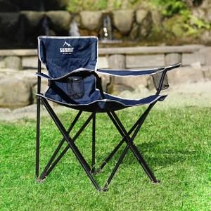 【MODERN DECO】SUMMIT戶外輕巧摺疊椅-海軍藍海軍藍