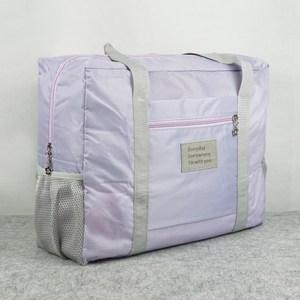 【韓版】牛津布糖果色大容量多用旅行收納袋(香芋紫)