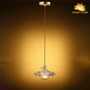 HONEY COMB 高工藝花瓣玻璃單吊燈 TA7658R