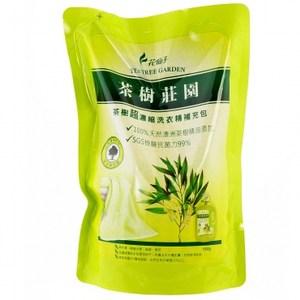 茶樹莊園-茶樹超濃縮洗衣精補充包