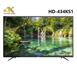 HERAN禾聯 43吋 4K UHD液晶顯示器+視訊盒HD-434K1
