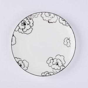 HOLA 香頌骨瓷月光盤16cm花語