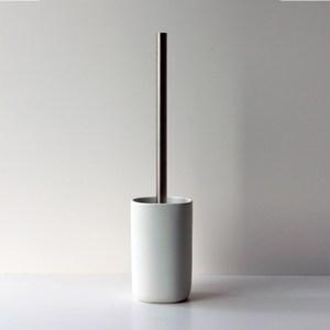 HOLA 羅夫特陶瓷馬桶短刷 白