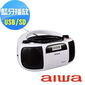 AIWA 愛華 CR-BUE40  CD藍牙手提音響 可支援USB