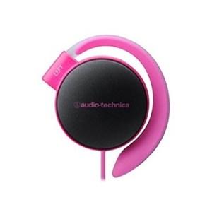 鐵三角 ATH-EQ500 深粉 耳掛式耳機 超輕量款22g