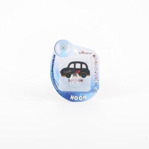 HOMMY黏貼式掛勾-藍色小車車(單入)