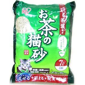 IRIS 日本 天然綠茶茶葉豆腐貓砂(OCN-70) 7L X 1包