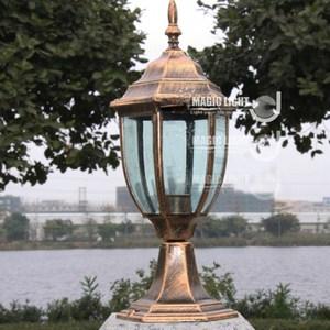 【光的魔法師 Magic Light】全鋁戶外仿古柱頭燈
