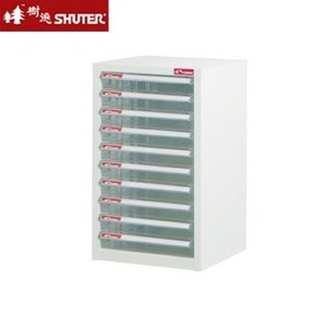 【nicegoods】A4-110P 十層單排雪白資料櫃(10低抽)
