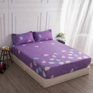 【BARNITE】夏天的夢棉感絨三件式床包組(加大)