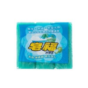 皂福衣領皂 170gx3