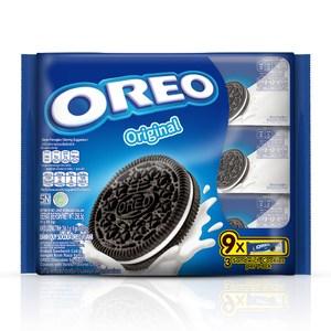 OREO 奧利奧原味夾心餅乾-香草口味夾心(9x28.5g)x12入