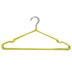 夏日限定 防滑衣架 10入 柳黃綠