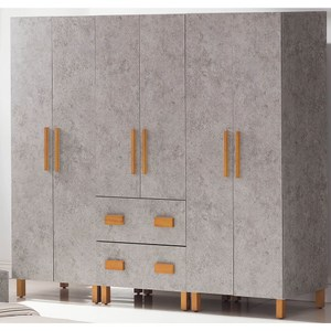 【obis】清水模7.5尺衣櫥(清水模 7.5尺 衣櫥)清水模