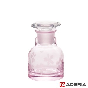 【ADERIA】日本進口櫻花玻璃醬油罐50ml